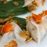 White Rose Dumplings in Vietnam