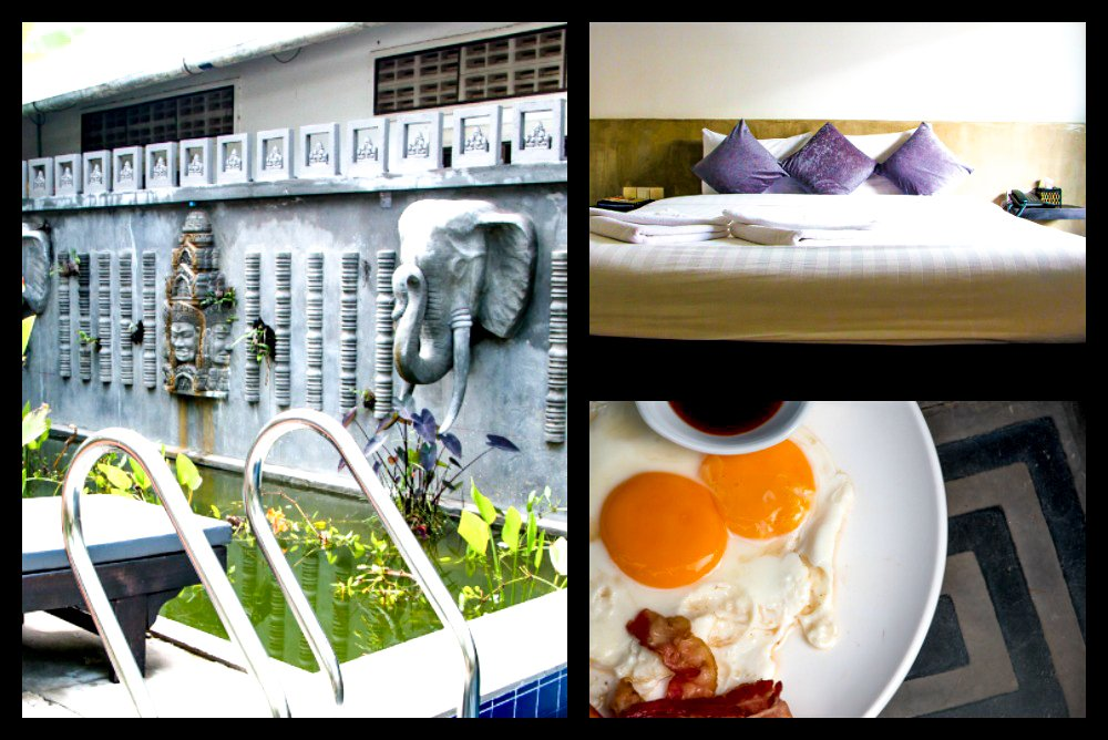 Highlights of the Fancy Boutique Villa include the pool, the room and the breakfast. Cambodian Adventure in Siem Reap
