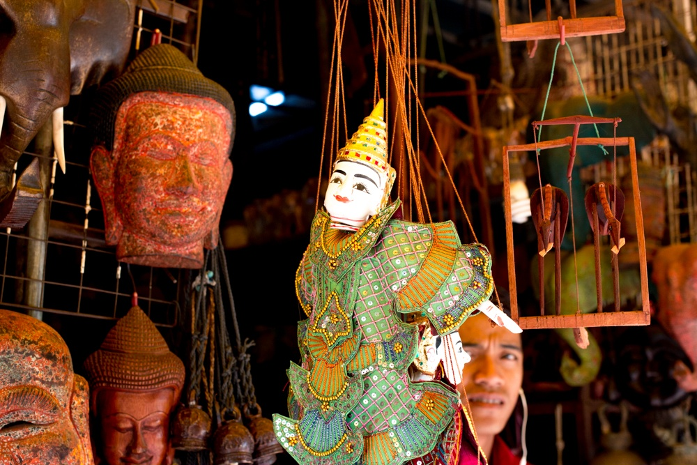 Stall at the Old Market in Siem Reap Cambodia