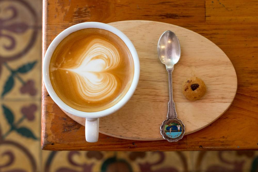 Coffee at Sister Srey Café. Cambodian Adventure in Siem Reap