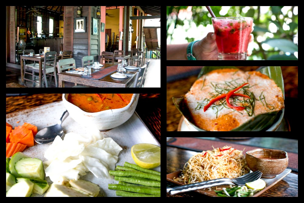 Scenes from our Lunches at The Sugar Palm. Cambodian Adventure in Siem Reap