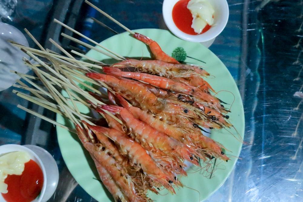 Fresh Seafood in Da Nang Vietnam