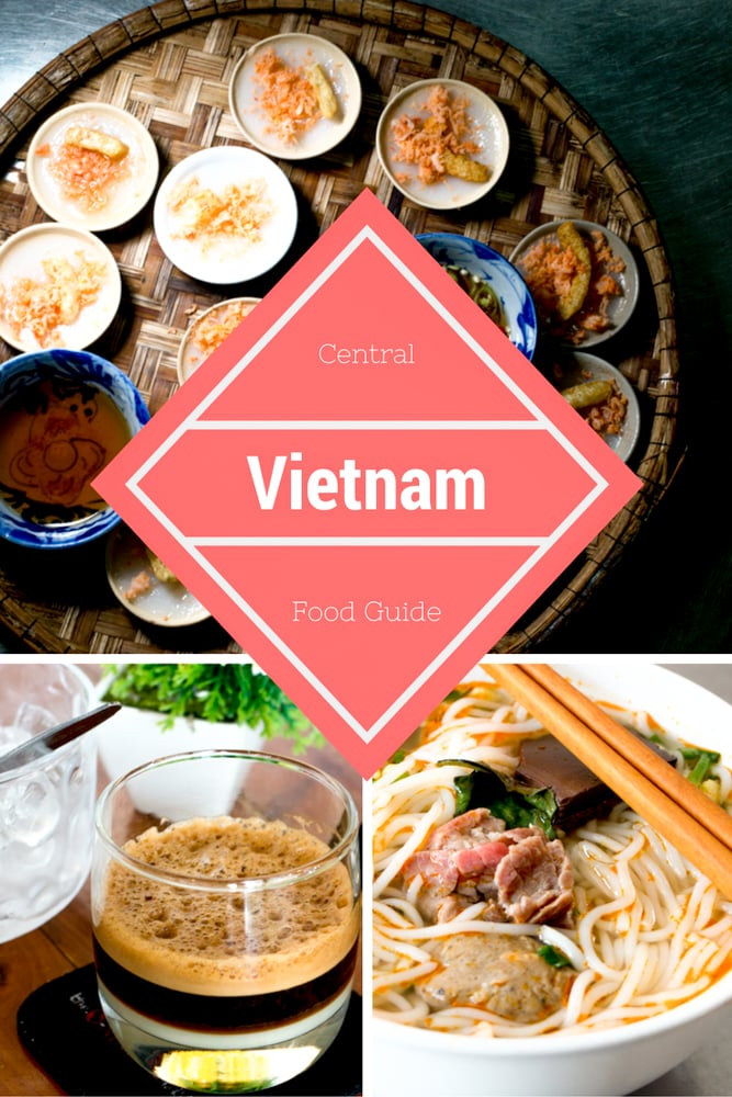 Central Vietnam Food Guide Pin