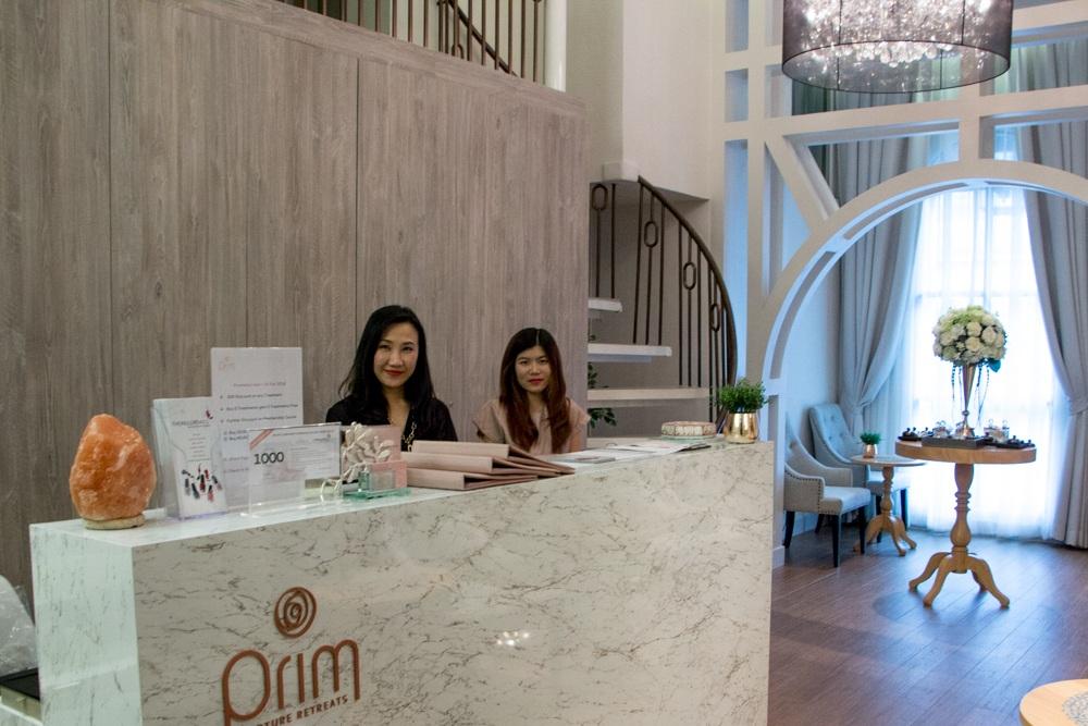 The Welcoming Staff at Prim Nurture Retreats Spa. Bangkok Luxury Hotel Experience at Metropole
