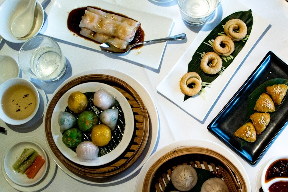 Dim Sum at Min Jiang in London