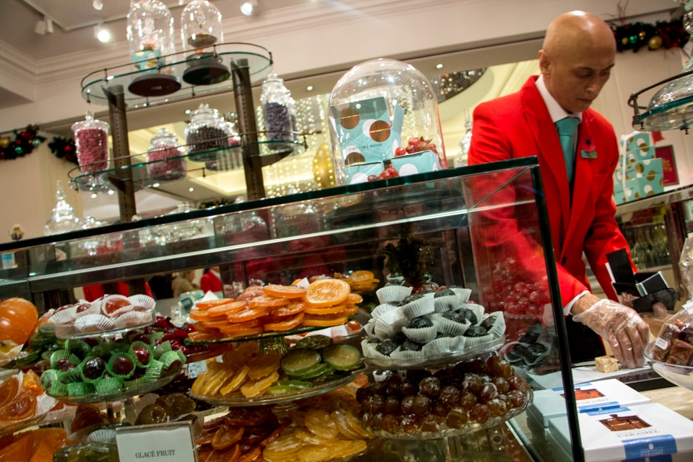luxe-london-dessert-tour-2foodtrippers. Candy Counter at Fortnum and Mason