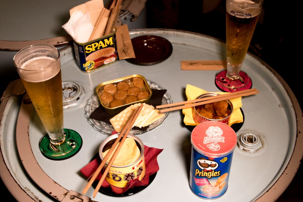 2foodtrippers Osaka Food Guide. Snacks and Beer for Two at Mr. Kanso