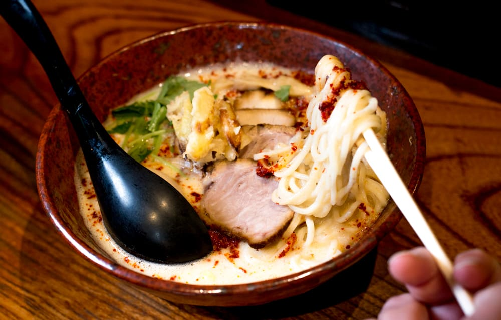 2foodtrippers Osaka Food Guide. Ramen is available all over the world, but there's something special about the ramen served in Osaka. Ippudo