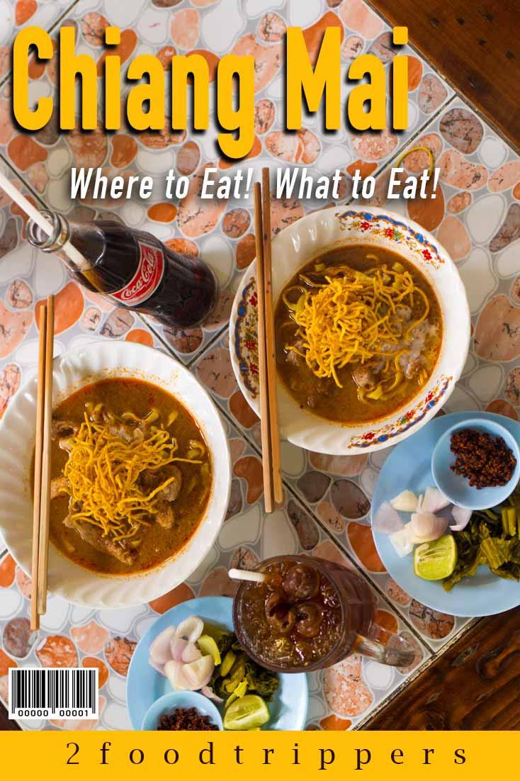 Chiang Mai   Thailand   Chiang Mai Thailand   Chiang Mai Food Guide   Chiang Mai Restaurants   Where to Eat in Chiang Mai   What to Eat in Chiang Mai   Khao Soi   Khao Kha Moo   Street Food   Night Markets   Thai Food   #ChiangMai #Thailand  #TravelTips #Travel