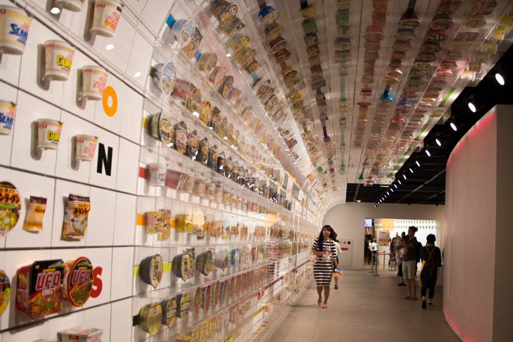 Cup Noodles Museum in Osaka
