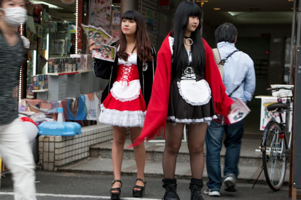 Maid Café Employees. Why You Gotta Visit Osaka Japan 2foodtrippers