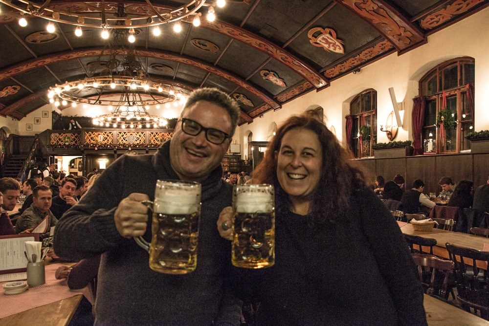 Beer Steins at Beer at Augustinerbrau