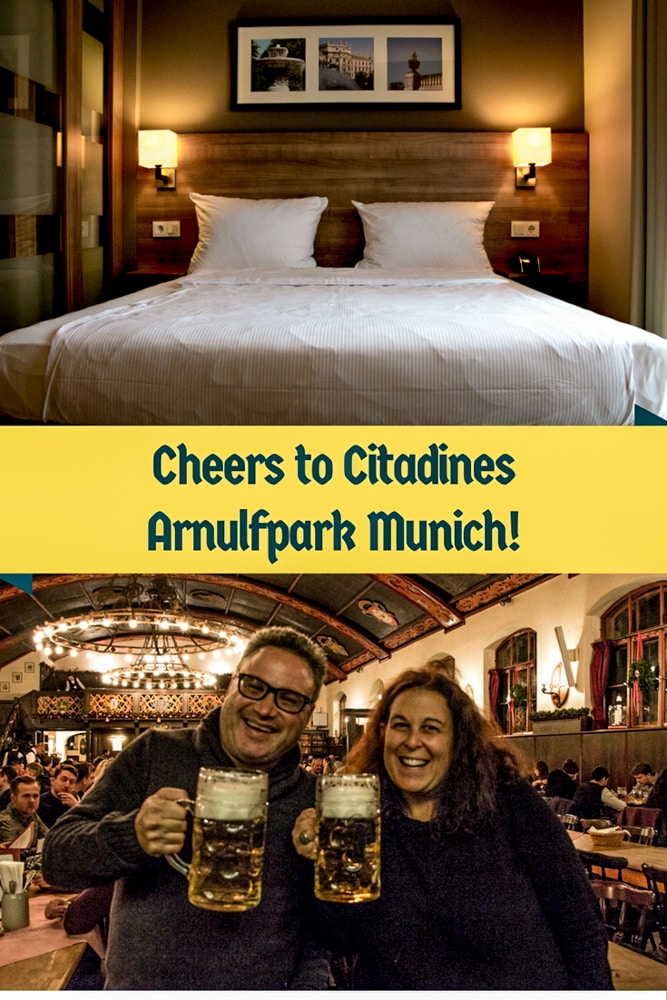 We stayed at Citadines Arnulfpark Munich during our visit to Munich, Germany. This apartment style hotel offers comfortable rooms and a convenient location. Plus, it's close to good food, beer and coffee.