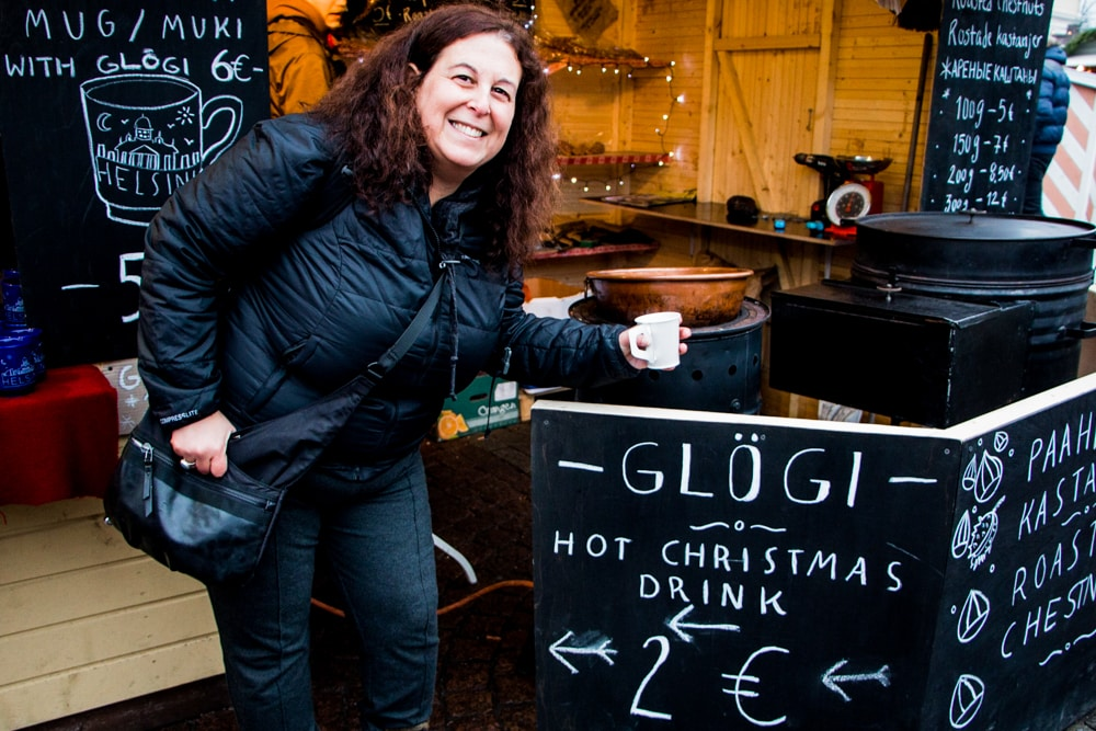 Glogi at the Helsinki Christmas Market