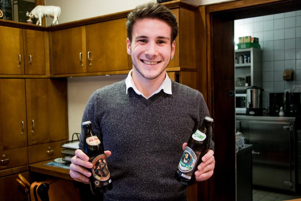 Hotel Laimer Hof Munich Welcome Beer
