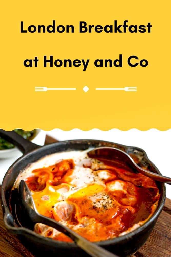 London Breakfast at Honey and Co