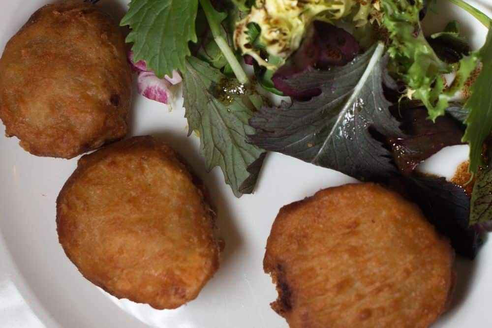 Patates Ferceds at Can Roca - Where to Eat in Girona Spain - A Girona Food Guide