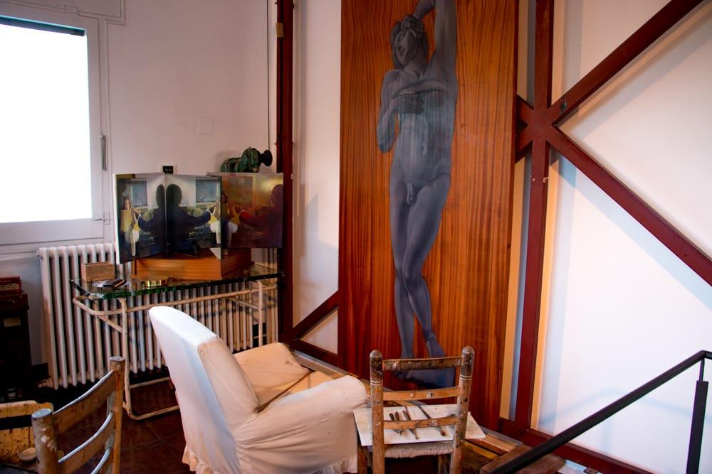 Casa Dali Interior in Costa Brava Spain