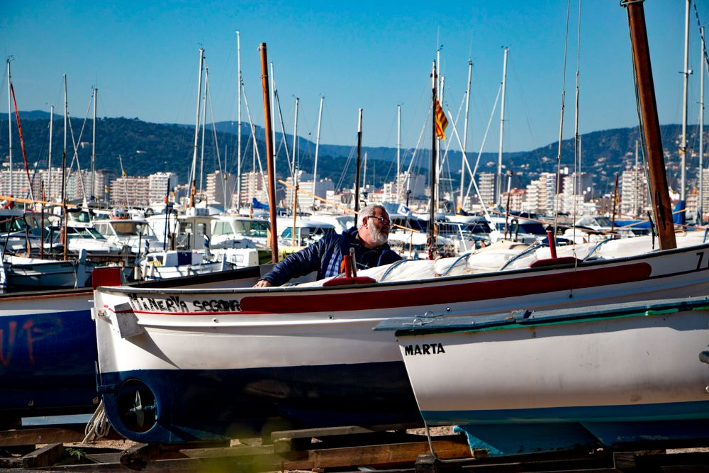 Fishing Boats in Palamos Spain