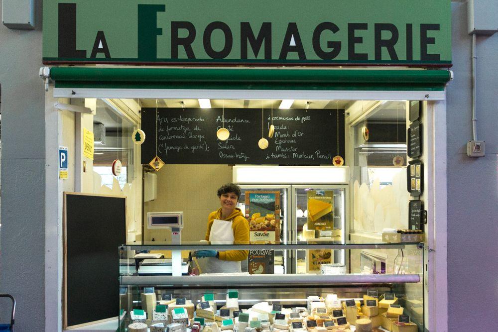 Sandrine Poupinet at La Fomagerie - Where to Eat in Girona Spain - A Girona Food Guide