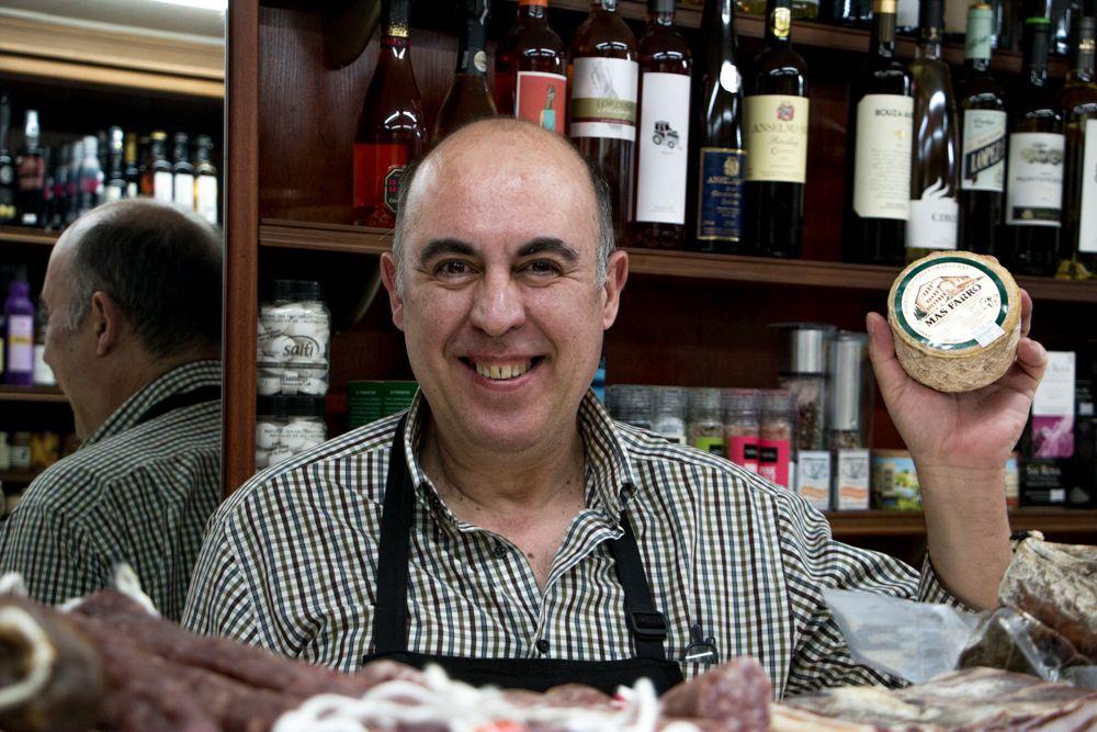 Xavier Baig at La Noucentista in Girona Spain