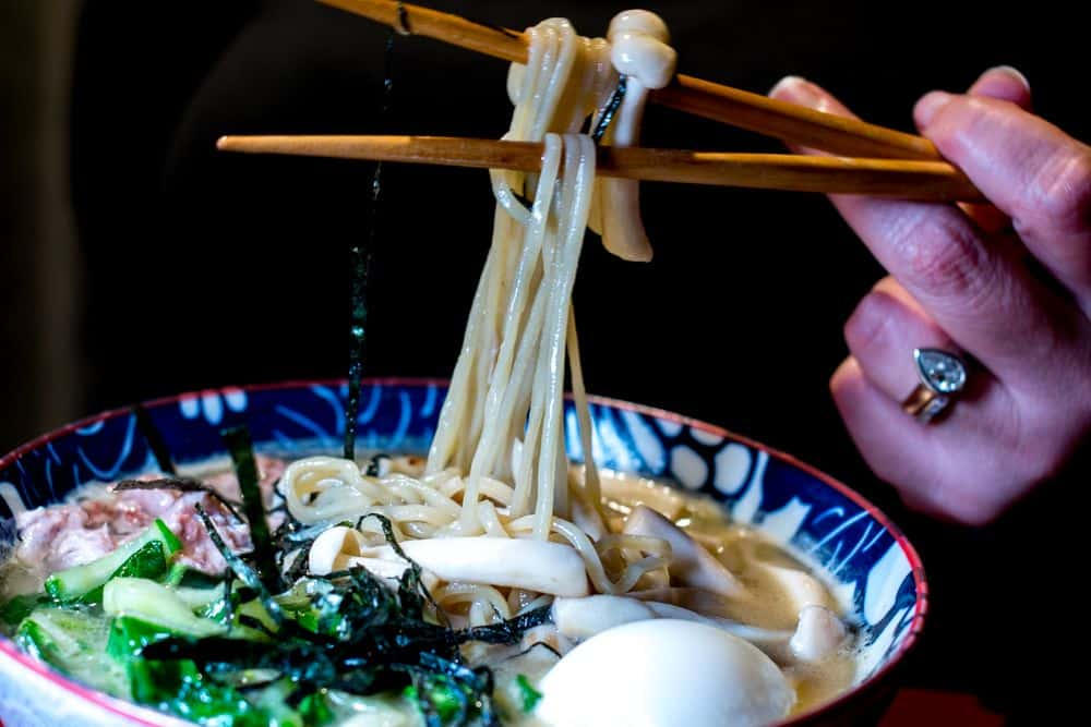 Ramen at Mien - Where to Eat in Girona Spain - A Girona Food Guide