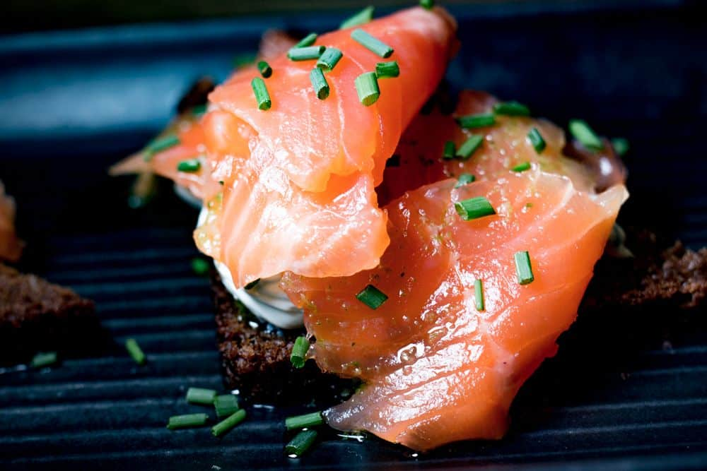 Smoked Salmon in Helsinki