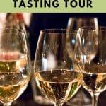 Pinterest image: imagesof wine with caption reading 'Barcelona Tapas & Wine Tasting Tour'