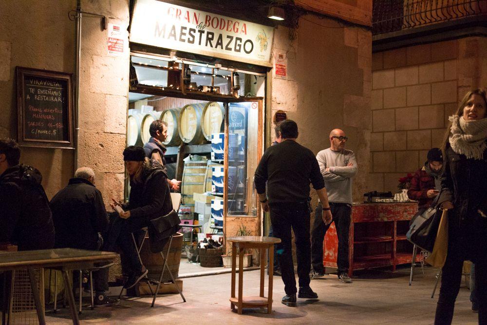 Bodega Maestrazgo in the Born neighborhood of Barcelona Spain