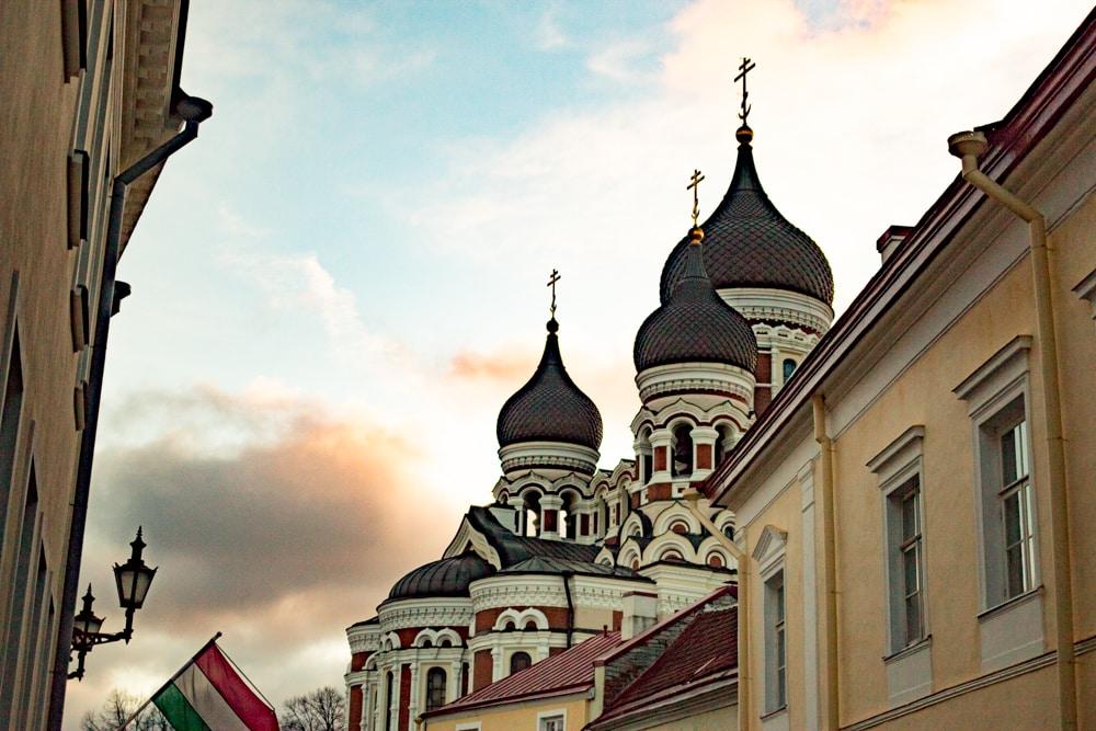 Old Town Tallinn Architecture