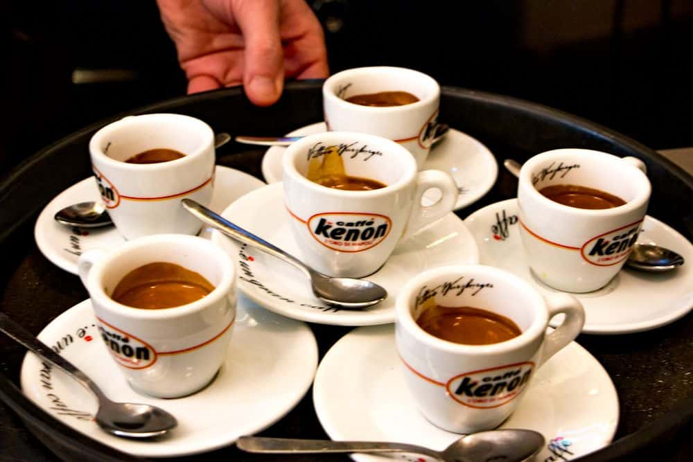Coffee Samples - Awesome Naples Walking Tour with Coffee and Pizza