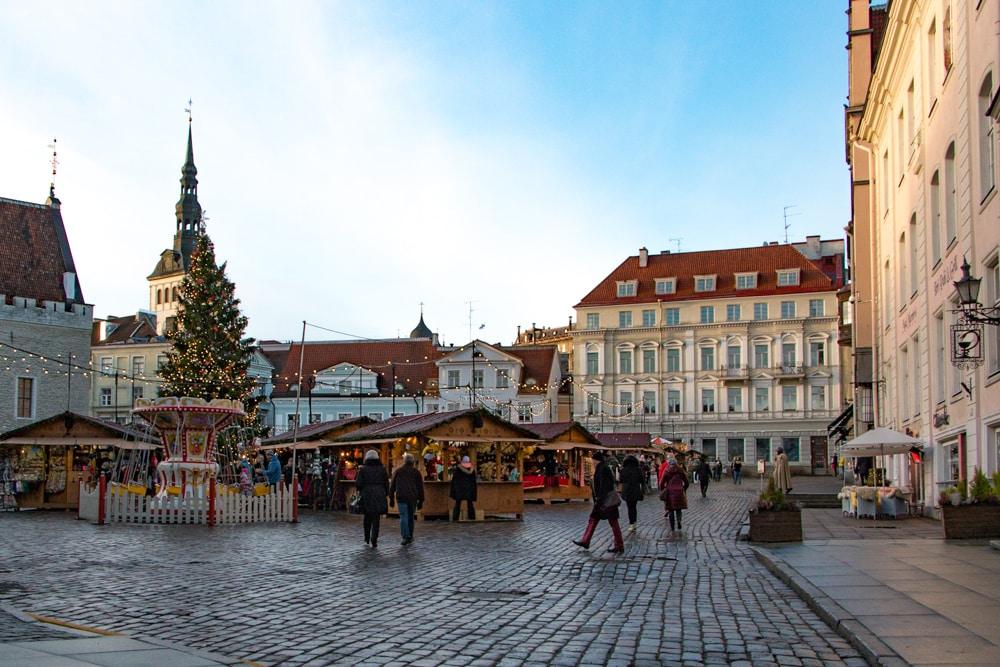 Christmas Market in Tallinn Estonia