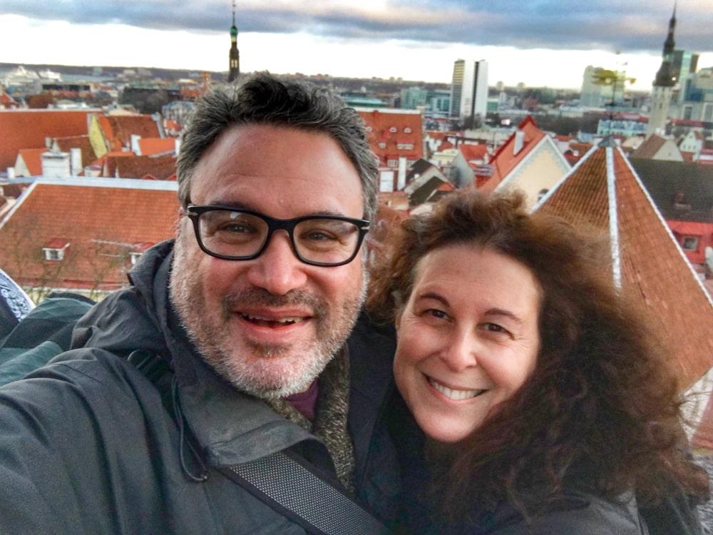 Old Town Tallinn Selfie
