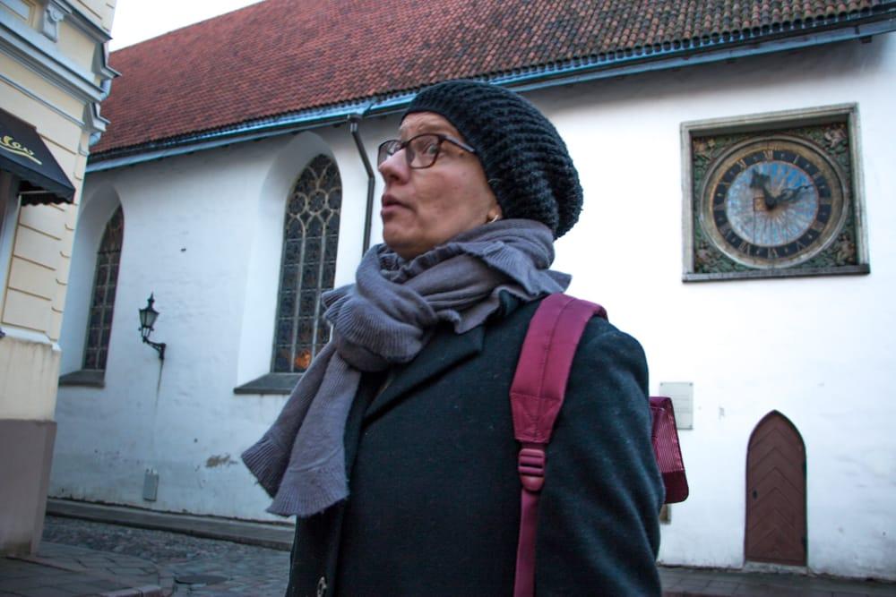 Tour Guide Margit Raud in Tallinn Estonia