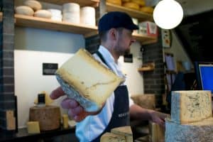 London Food Tour Neals Yard Cheesemonger