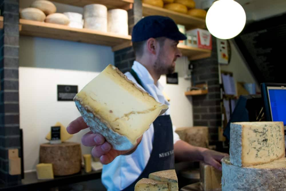 Neal's Yard Dairy Cheesemonger - London Food Tour