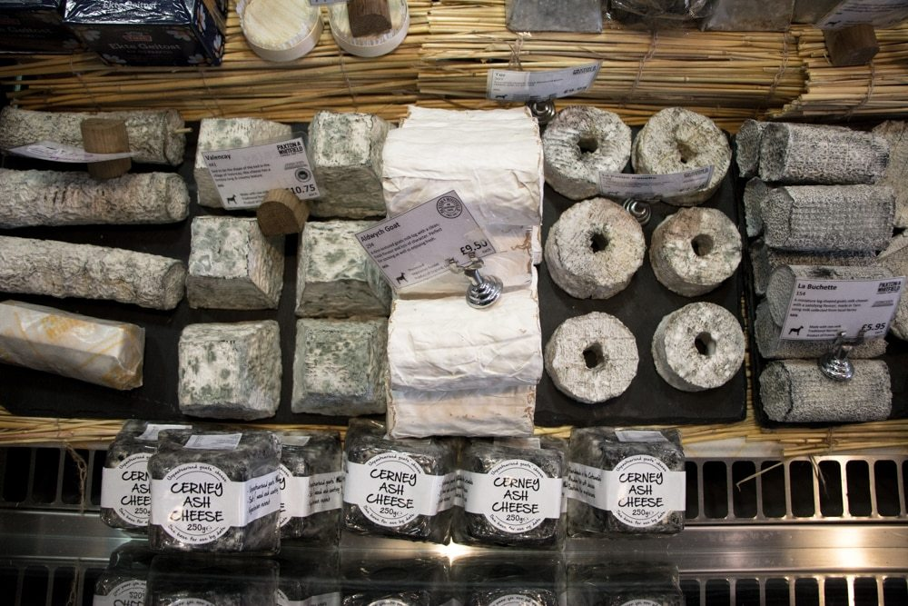 Cheese at Paxton & Whitfield - London Food Tour