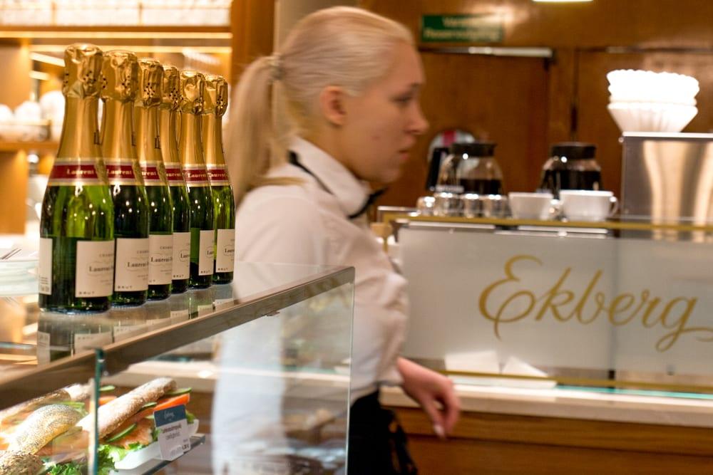 Cafe Ekberg in Helsinki Finland
