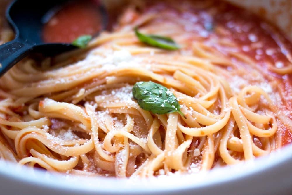 Homemade Neapolitan Pasta