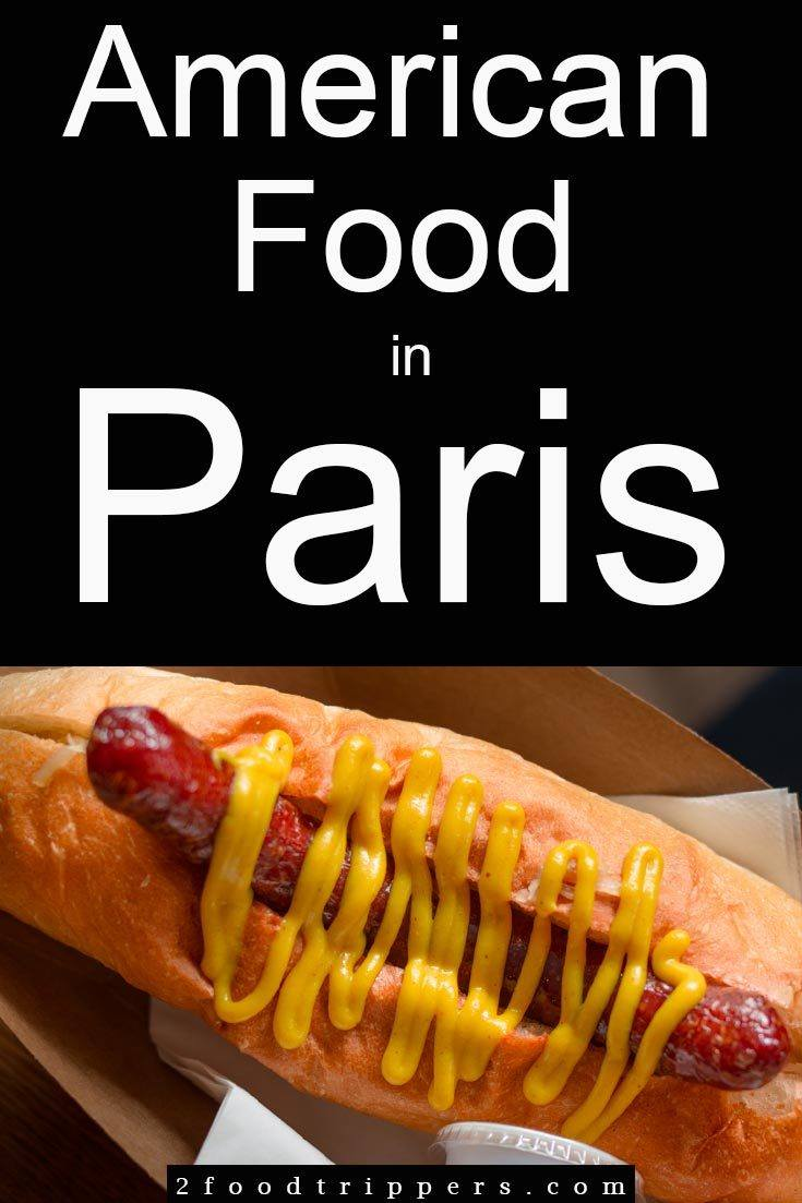 Check out 4 restaurants serving awesome American food in Paris. These cheap eats Paris options showcase the French take on hamburgers, hot dogs, grilled cheese & barbecue. | #Paris # France #ParisFrance #ParisFood #ParisRestaurants