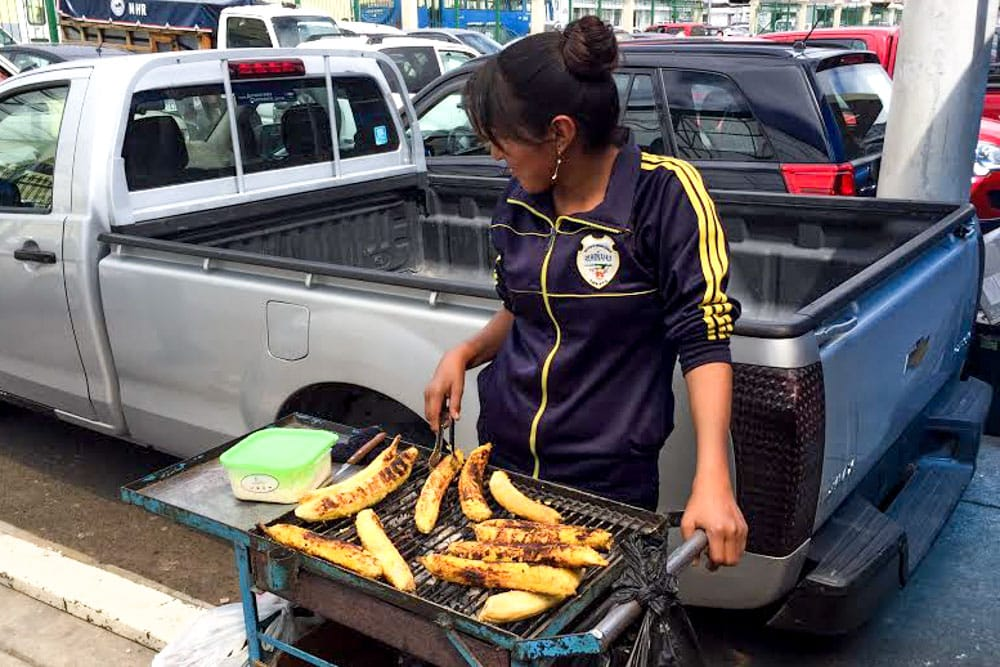 Ecuadorian Food - Fried Plantains