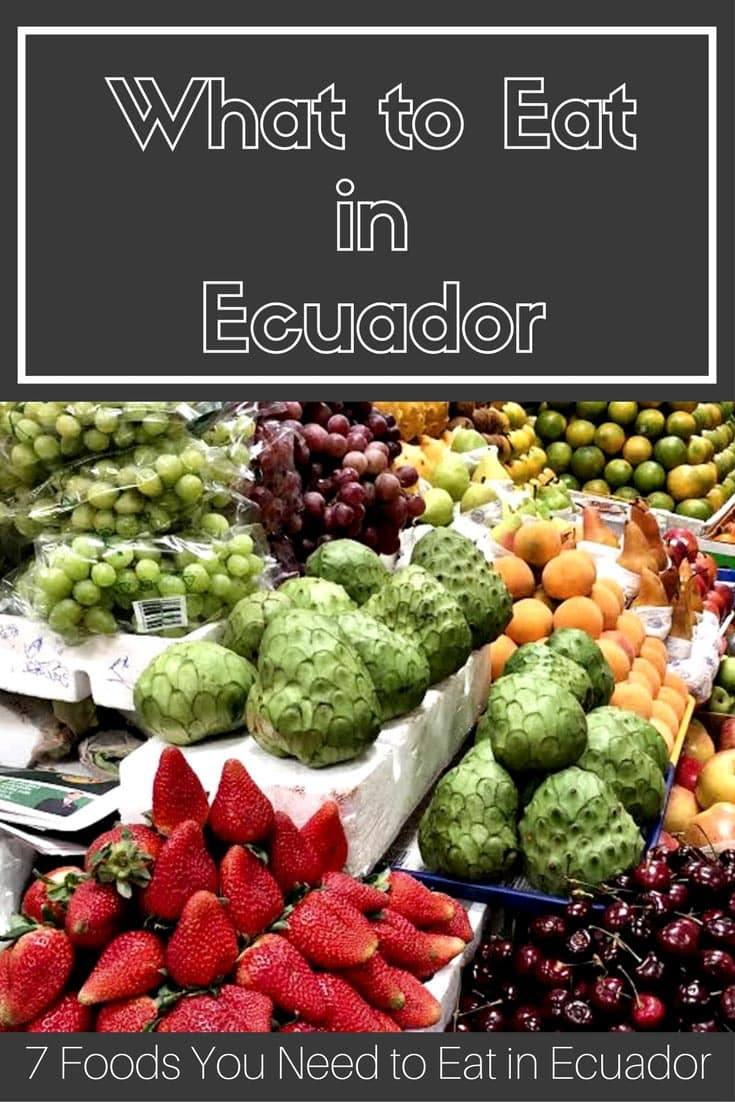 7 Foods You Must Eat in Ecuador I Ecuadorian Food I Ecuador Food | Ecuador Foods | What to Eat in Ecuador | Food in Ecuador | Ecuador Dishes | South America | Guinea Pigs | Ceviche | Chocolates | #Ecuador #SouthAmerica #EcuadorFood