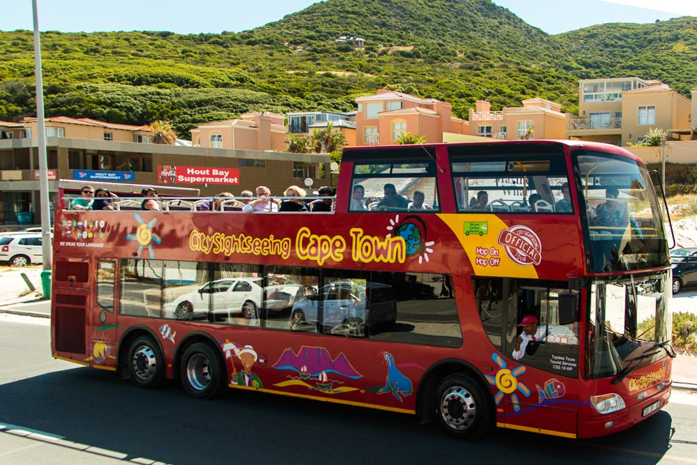 Hop On Hop Off Bus in Cape Town South Africa