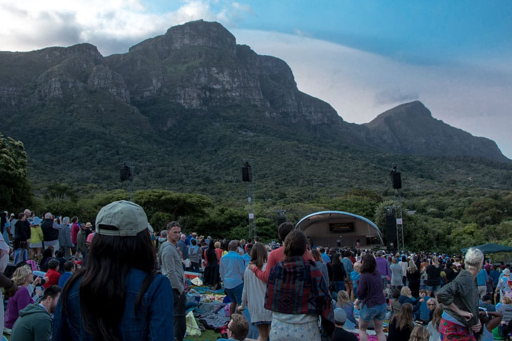 Kirstenbosch Gardens Concert - 25 Adventurous Things to Do in Cape Town for Non-Adventure Travelers