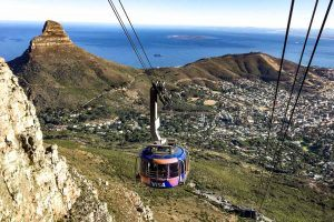 Table Mountain Cable Car in Cape Town South Africa