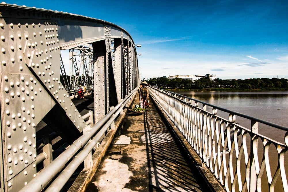 Truong Tien Bridge in Hue Vietnam