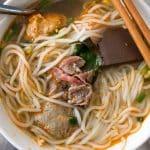 Bun Bo Hue – Spicy Noodle Soup in Vietnam
