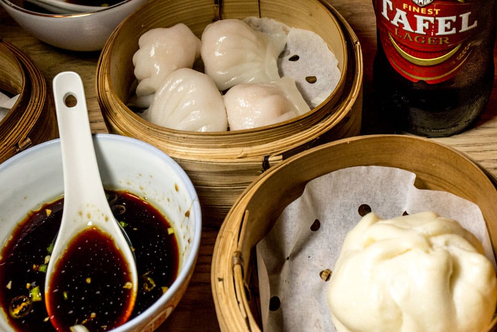 Where to Eat in Cape Town South Africa - A Cape Town Food Guide - Beijing Opera Dumplings and Beer