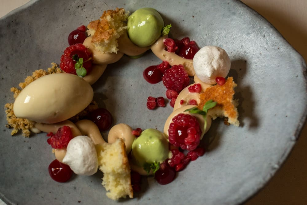 Where to Eat in Cape Town South Africa - A Cape Town Food Guide - La Colombe Dessert
