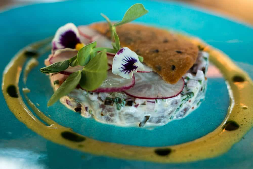 Where to Eat in Cape Town South Africa - A Cape Town Food Guide - The Pot Luck Club Fresh Fish Tartare
